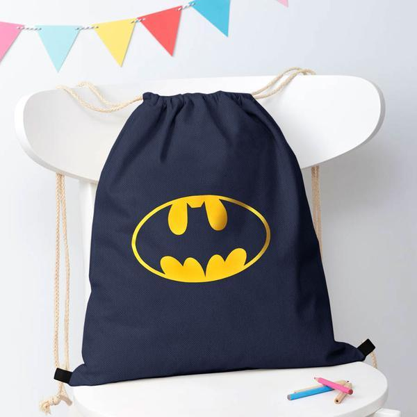 Polo Republica Batman Drawstring Bag