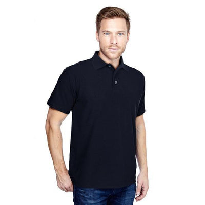 DCK Zeelami Short Sleeve Polo Shirt Men's Polo Shirt Image Navy M