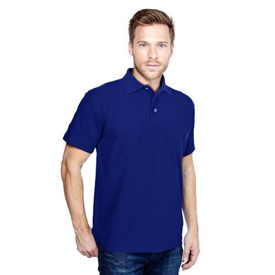 DCK Zeelami Short Sleeve Polo Shirt Men's Polo Shirt Image Royal M