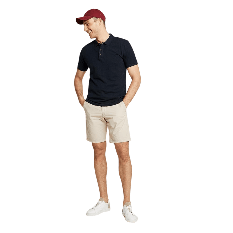 Platic Short Sleeve with Minor Fault Polo Shirt