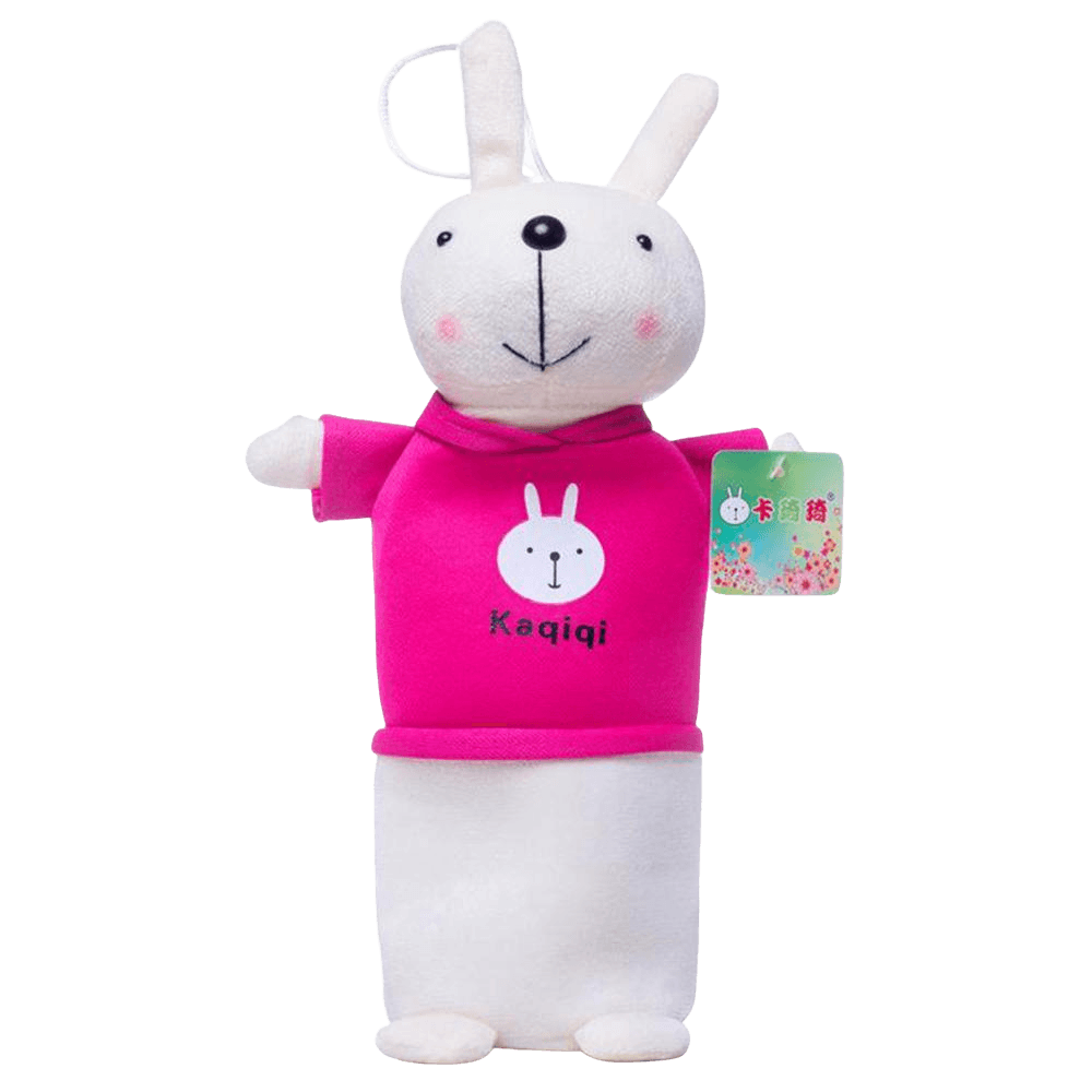 Korean Version Kaqiqi Cute Rabbit Stationery Pouch Stationary & General Accessories Sunshine China Magenta