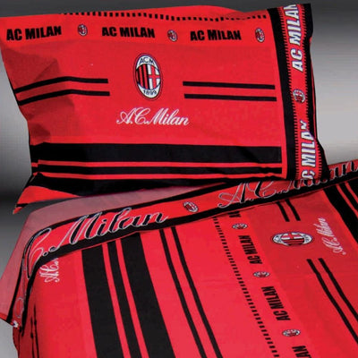 CEC Football Lovers Milan Single Bed Sheet set