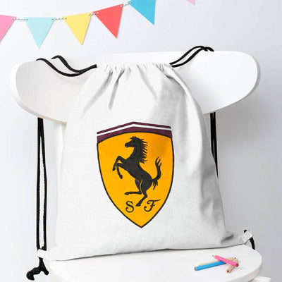 Polo Republica Amasya Drawstring Bag Drawstring Bag Polo Republica White