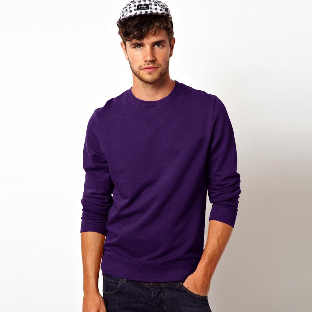 Kitrose Sweat Shirt Men's Sweat Shirt Image Purple M