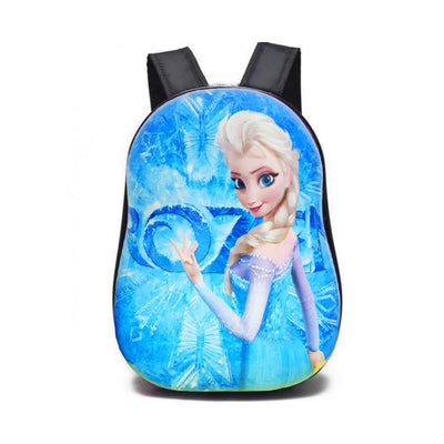 Cartoon Character Hard Shell Backpack School Bag Sunshine China Elsa
