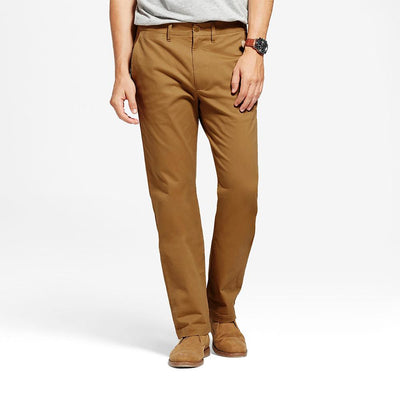 TES Moriya Slim Stretch Chino Pants Men's Chino NMA Camel 29 32