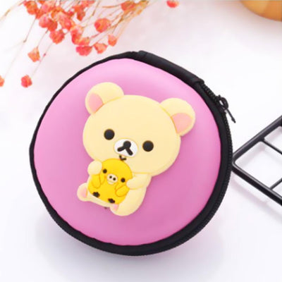 Cartoon Character Headphone Storage Bag Storage Bag Sunshine China