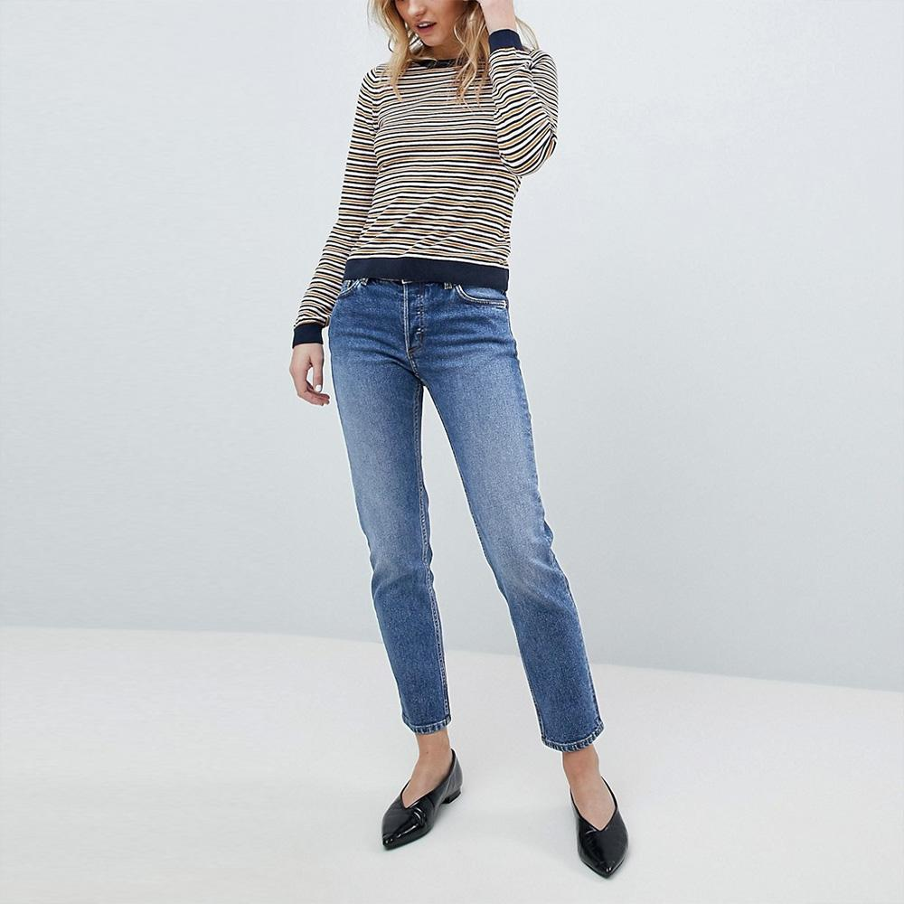 Monki Women's High Waist Straight Leg Denim Women's Denim SRK