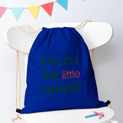 Polo Republica Enjoy Little Things Drawstring Bag Drawstring Bag Polo Republica Royal Green