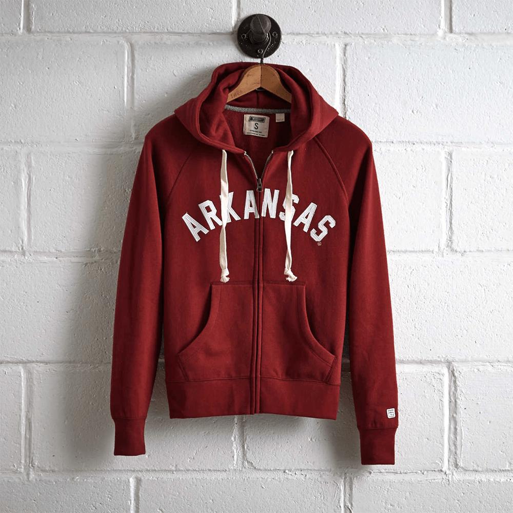 TG (Cut Label) Arkansas Women's Zipper Hoodie Women's Zipper Hoodie MAJ