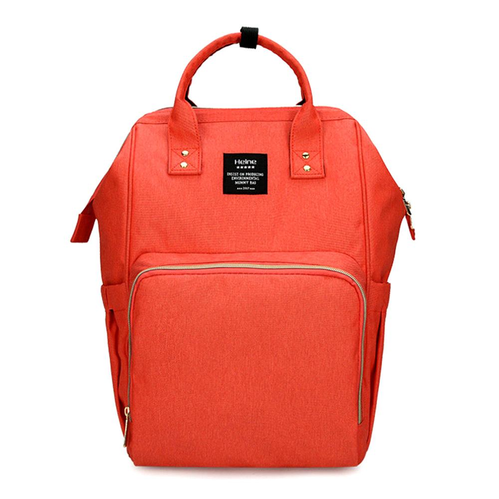 Bebewing Printed Baby Diaper Backpack Bag Women's Accessories Sunshine China Orange