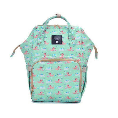 Heine baby diaper backpack bag Women's Accessories Sunshine China Tommy Print