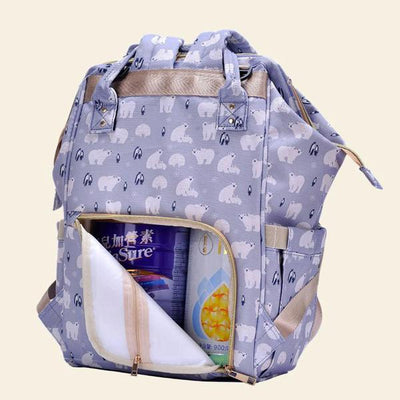 Heine baby diaper backpack bag Women's Accessories Sunshine China Bear Print