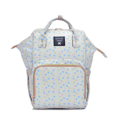 Heine baby diaper backpack bag Women's Accessories Sunshine China Dots Print