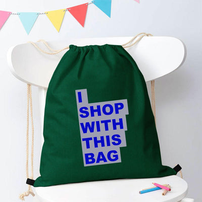 Polo Republica Shop With This Bag Drawstring Bag Drawstring Bag Polo Republica Bottle Green Royal
