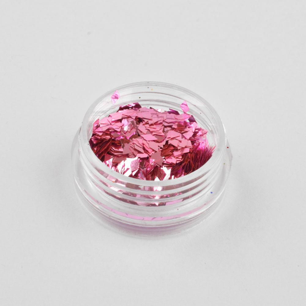 DIY Berisso Shining Nail Art Decorations Glitter Powder Health & Beauty Sunshine China Magenta
