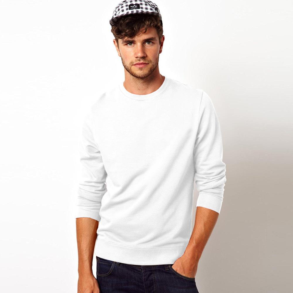 Kitrose Sweat Shirt Men's Sweat Shirt Image White M