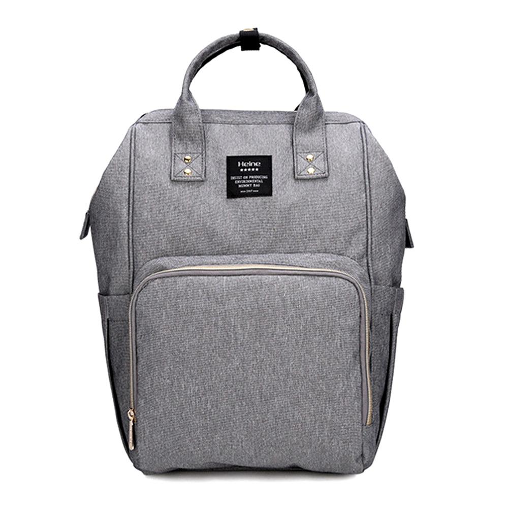 Bebewing Printed Baby Diaper Backpack Bag Women's Accessories Sunshine China Grey