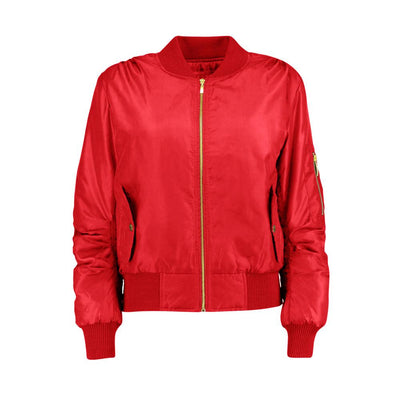 Women's Rising Wenling Puffer Bomber Jacket Women's Jacket Fiza Red XS