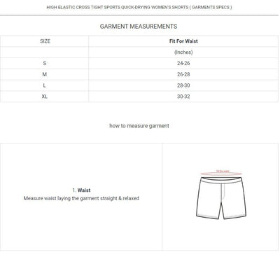 High Elastic Cross Tight Sports Quick-drying Women's Shorts Women's lingerie Sunshine China