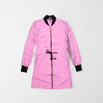 Hilvape Women's Ultra Light Bomber Jacket Women's Jacket AGZ Pink XS