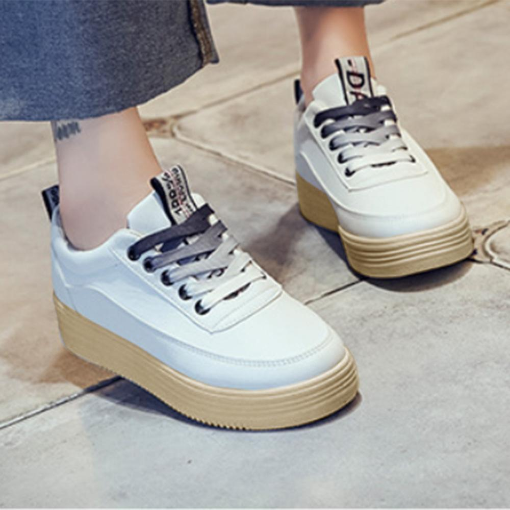 Fashion Korean's Trend Casual Shoes Women's Shoes Sunshine China White Grey EUR 35
