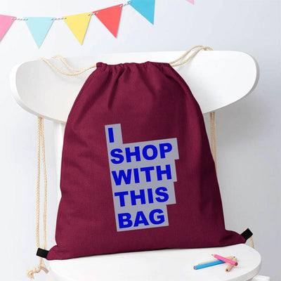 Polo Republica Shop With This Bag Drawstring Bag Drawstring Bag Polo Republica Light Burgundy Royal