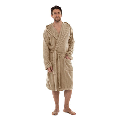 BS Manfredonia Hooded Terry Bathrobe