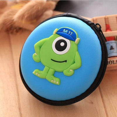 Cartoon Character Headphone Storage Bag Storage Bag Sunshine China Mit Sky Blue