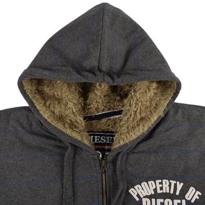 Diesel Ireland Authentic Attire Fur Zipper Hoodie Men's Zipper Hoodie First Choice