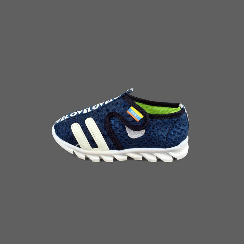 Taourirt Kid's Mesh Velcro Closure Shoes Boy's Shoes Sunshine China Navy EUR 21