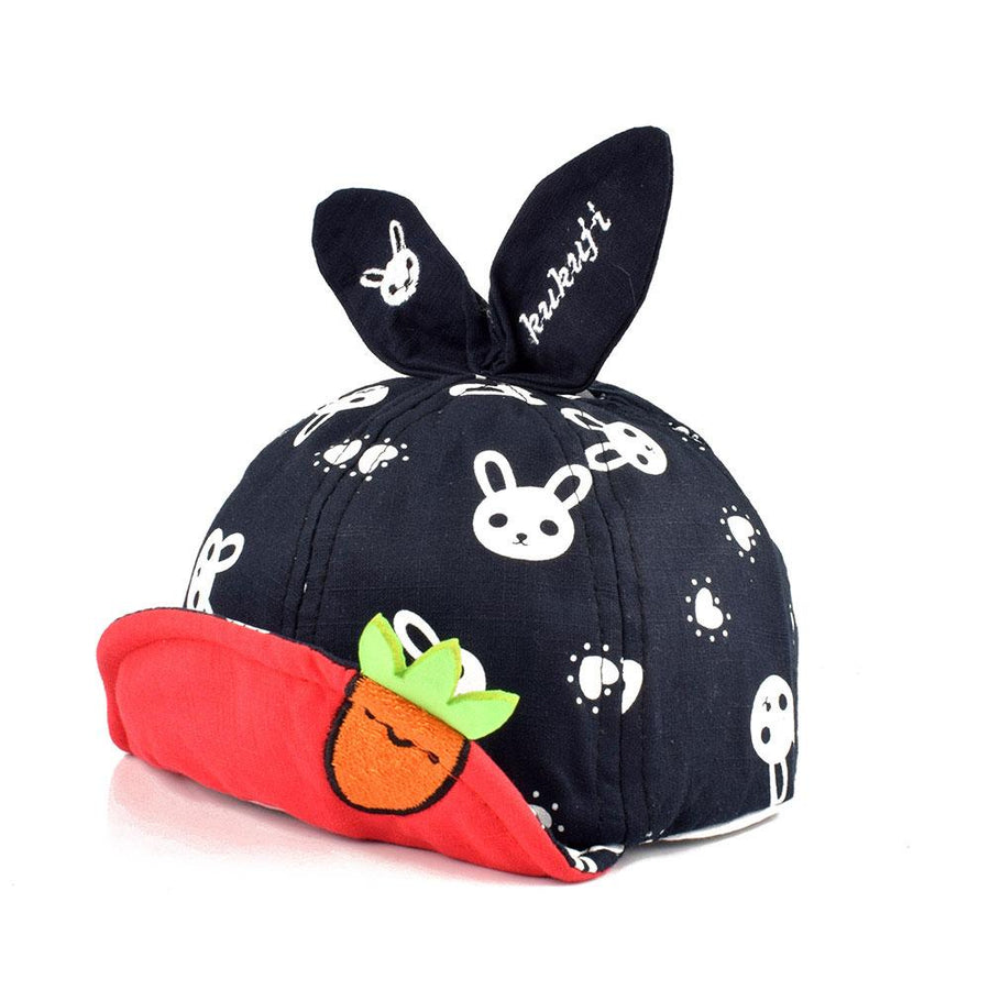 Rabbit Design Soft Fabric Kids P Cap