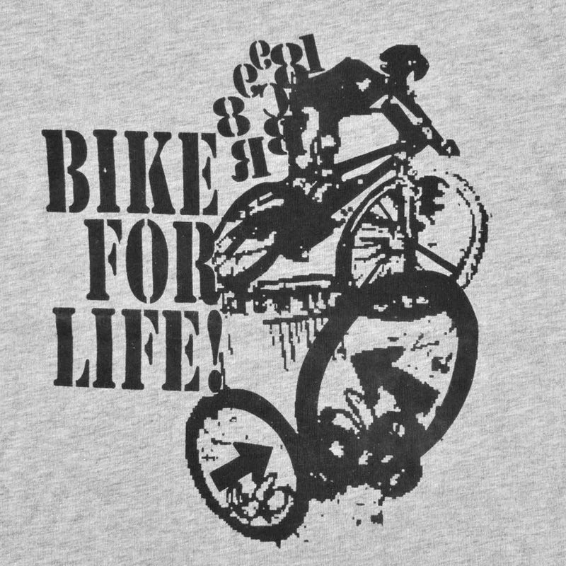 HM Bike For Life Kids Tee Shirt Boy's Tee Shirt First Choice Heather Grey 6-9 Months