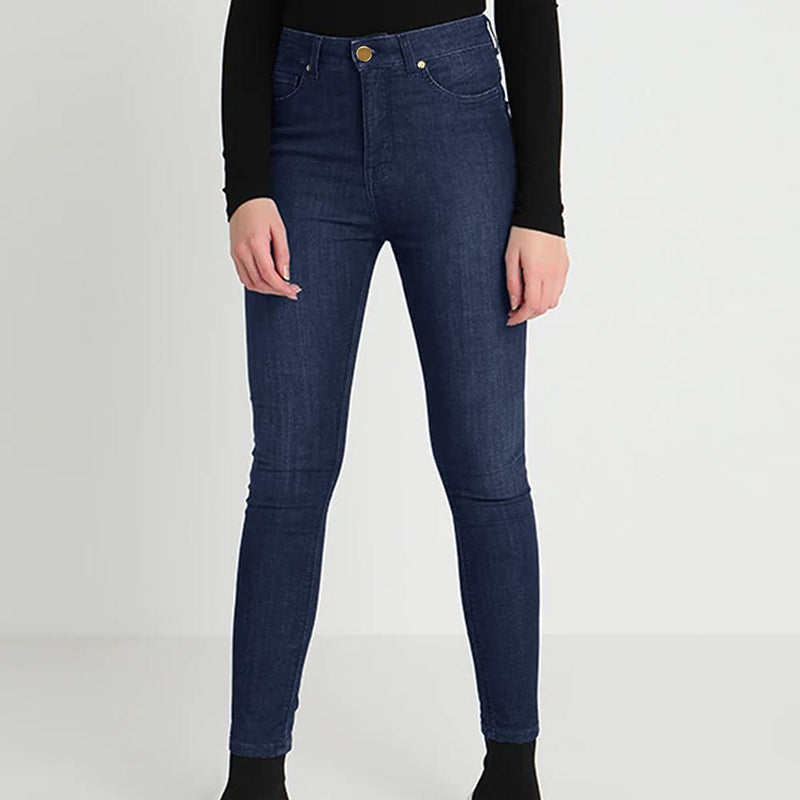 Women's Dark Blue Super Comfy Slim Fit Denim Women's Denim SRK