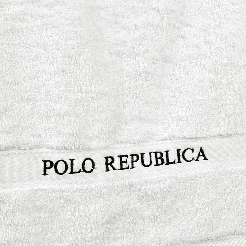 Polo Republica Yucatan Soft Pile Embro Bath Towel Towel HNC