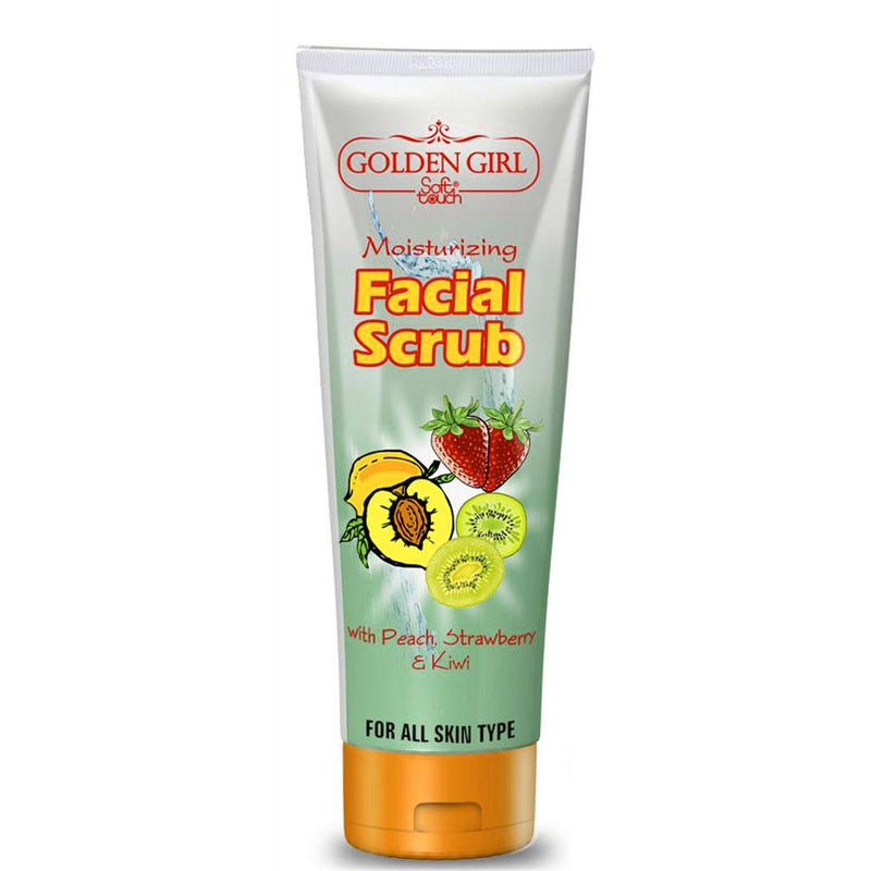 GGC Soft Touch Facial Scrub 120ml Health & Beauty Golden Girls Cosmetic