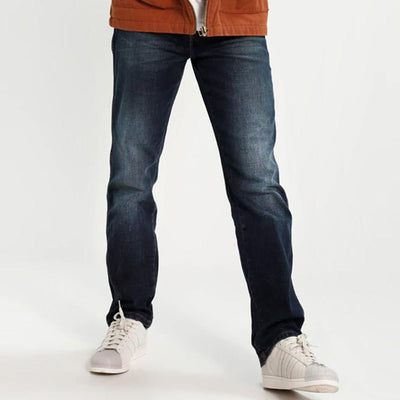 DNM Co Est 1969 Dept Dark Wash Straight Fit Denim With Belt Men's Denim SRK 28 30