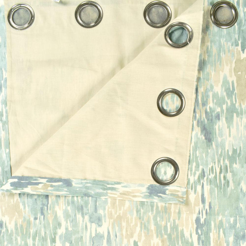 Dunelm Narvik One Piece Eyelet Curtain Curtain MB Traders W-46 x L-72 Inches