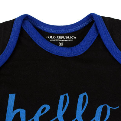 Polo Republica I'm New Here Long Sleeve Baby Romper Babywear Polo Republica