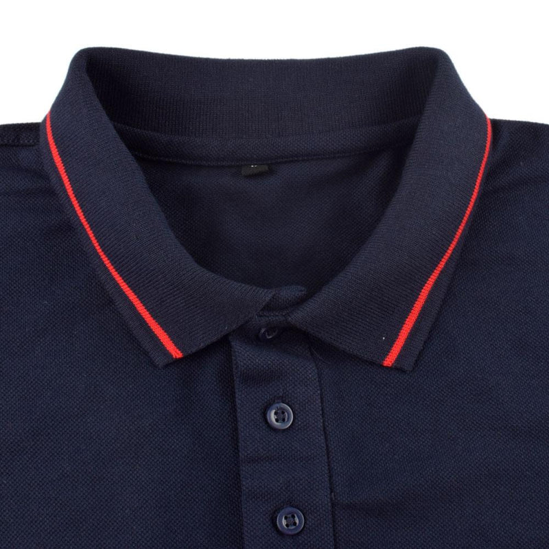 ACRO Drargua Short Sleeves Men's Polo Shirt Men's Polo Shirt Image Navy XS
