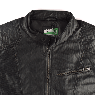 SFS Men's Luxuriant Style Genuine Leather Jacket Men's Jacket SFS