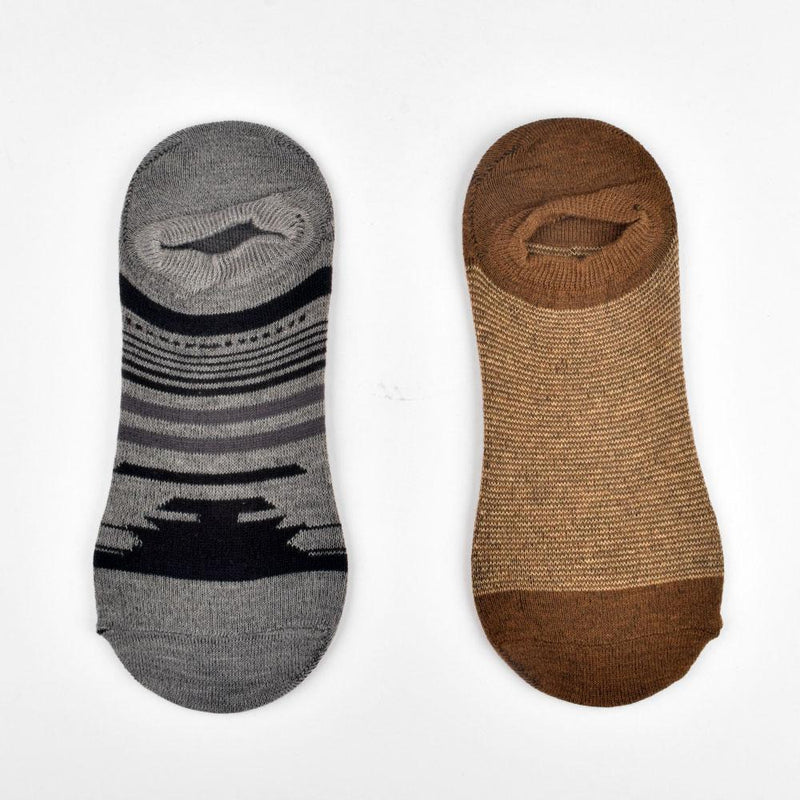 Polo Republica Pack of Two Exquisite No Show Y Heel Socks Socks Mouzay