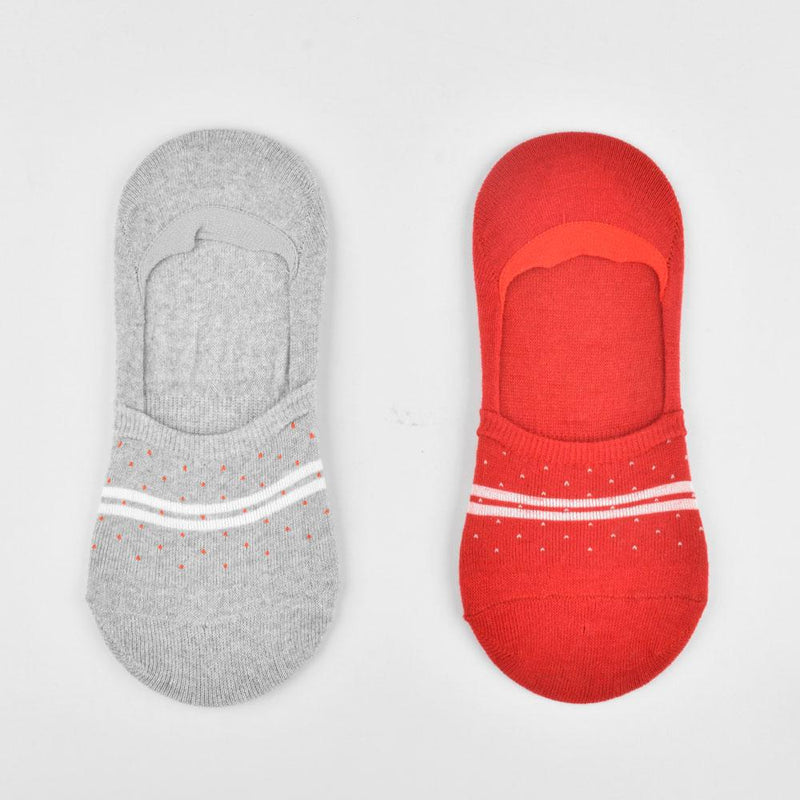 Polo Republica Pack of Two No Show Spectacular Invisible Socks Socks Mouzay