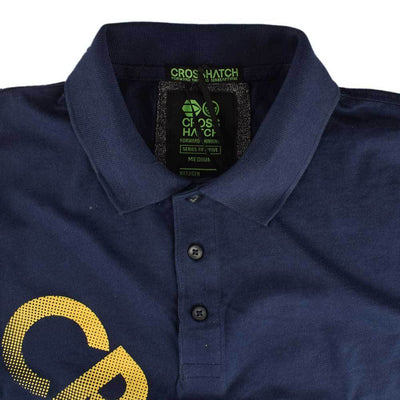 Cross Hatch Series Fifty Five Printed Polo Shirt Men's Polo Shirt First Choice