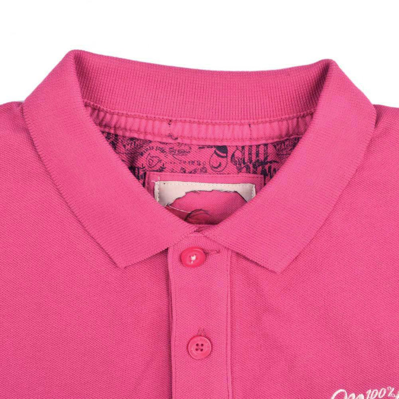Freamunde Mambo Men's Cut Label Polo Shirt Men's Polo Shirt NMA Light Magenta White XS