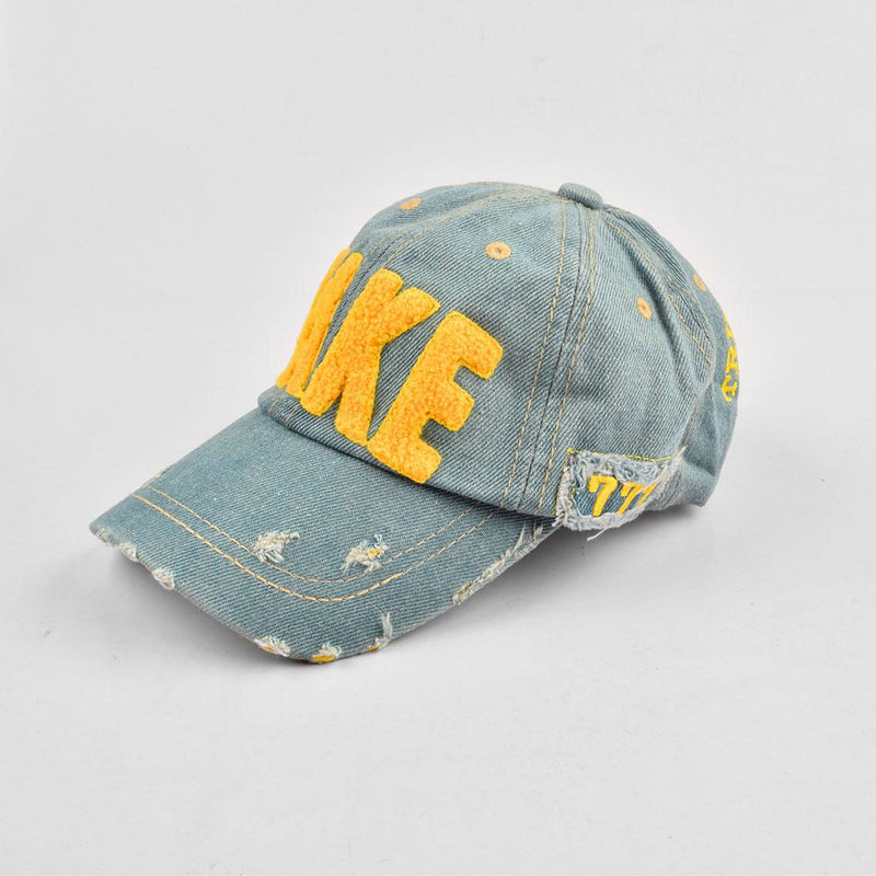 Take Evora Denim Embro P Cap Headwear CPUQ Jeans Marl Yellow