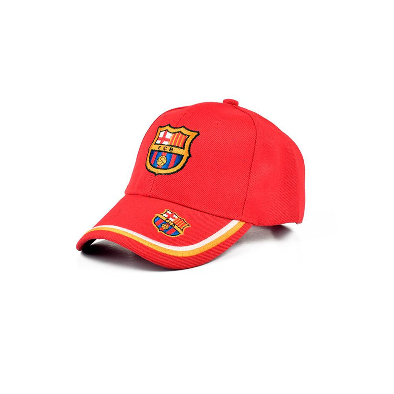 MB FC Barcelona Embro P Cap Headwear MB Traders Red