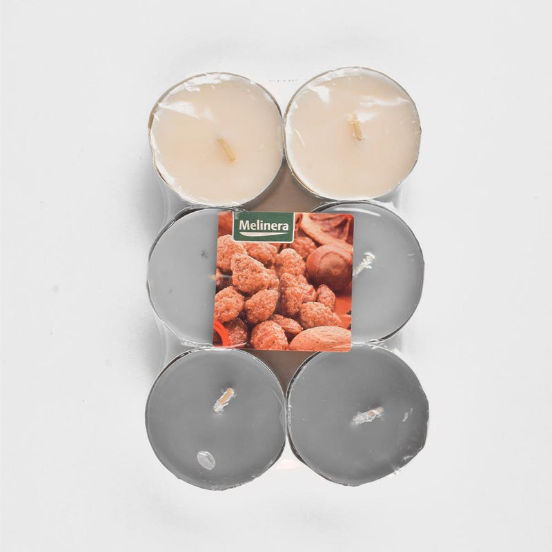 Melinera Assorted Pack of 6 Scented tealight Candles Home Supplies ANF