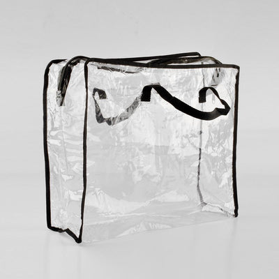 ANF Large Size PVC Transparent Travel Bag Storage Bag ANF