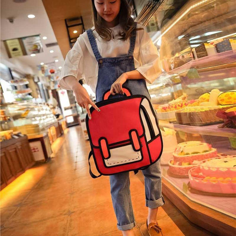 3D School Wind Backpack School Bag Sunshine China